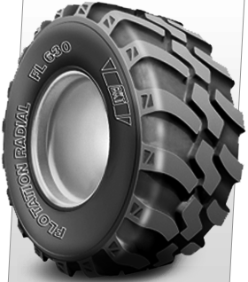 FL 630 Steel Belt Tires